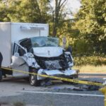 1 Seriously Injured after Truck Hits School Bus