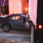 2 Hurt After Slamming into Side of Tractor Trailer